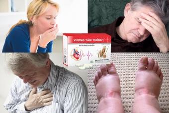 Vương Tâm Thống giúp giải quyết các triệu chứng suy tim